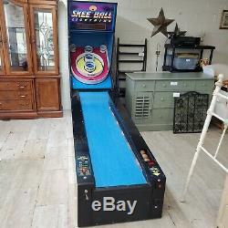 Classic Skee-Ball Lightning Roller Arcade Game Machine Alley 10' Game
