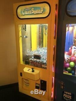 Clean Sweep Claw Machine Crane Game Arcade Smart Industries