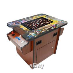 Cocktail Arcade Machine With60 IN 1 Classic Games 135LB+ commercial grade