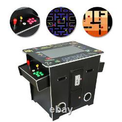 Cocktail Arcade Machine with 60 Classic Games Pacman, Galaga, Donkey Kong