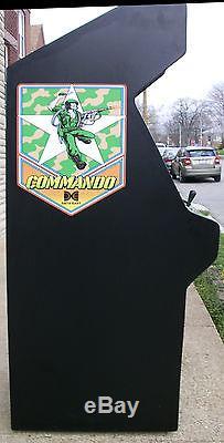 Commando By Data Ease Arcade Video Game Machine, Refurbished, Sharp-looks New