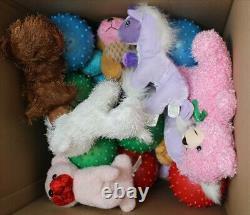 Crane Claw Machine Animal Plush and Knobby Ball Filler Mix