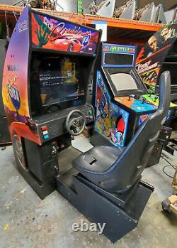 Cruisn' USA Arcade Driving Racing Video Game Machine WORKS GREAT! LCD! Cruisin 2
