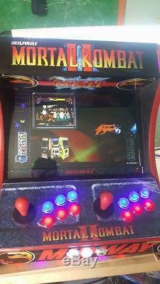 Custom Made MORTAL KOMBAT Arcade Machine. 16,000 Games! Free Shipping! Hyperspin