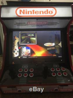 Custom Made NINTENDO Arcade Machine. 16,000 Games! Free Shipping! Hyperspin