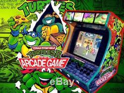 Custom Made Ninja Turtles Arcade Machine. 16,000 Games! Free Shipping! Hyperspin