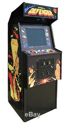 DEFENDER ARCADE MACHINE by WILLIAMS 1981 (Great Condition) RARE
