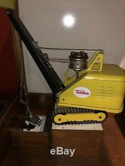 Dale Parker Digger 1960s Vintage Steam Shovel Arcade Claw Machine