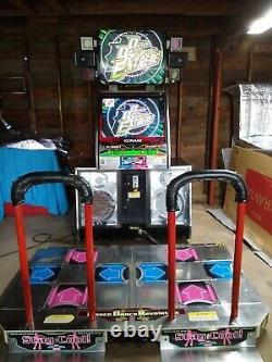 Dance Dance Revolution Extreme Arcade Machine withmemory card slots Konami/Bemani