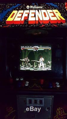 Defender arcade machine plays 749 other games too