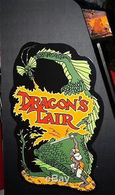 Dragon's Lair Arcade Machine with Dexter
