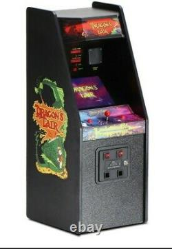 Dragons Lair X Replicade New Wave Toys Arcade Machine 12 Tall unopened