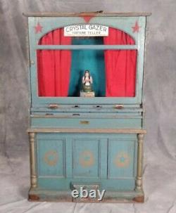 Early 1900's Fortune Teller Card Vending Machine by Mike Munves