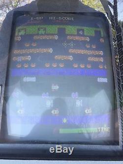 Frogger Arcade Game Nice Original Machine