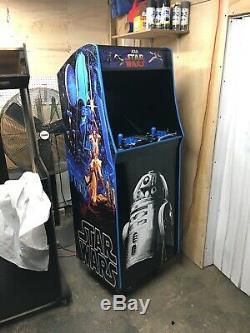 Full Size Arcade Machine Star Wars 6,000+ Games