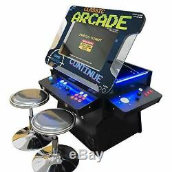 Full Size Commercial Grade Cocktail Arcade Machine 1162 Classic Games