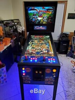 Full Size Virtual Pinball with Arcade games