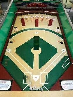Fully Restored Custom Vintage Williams 62 World Series Baseball arcade game