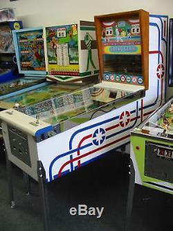 Fully Restored Custom Vintage Williams Grand Slam Baseball arcade game