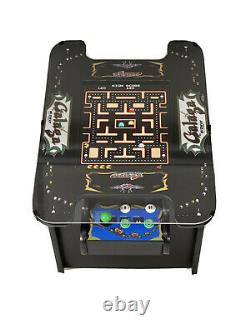 GALAGA, MS PACMAN COCKTAIL TABLE MACHINE! PACMAN, DONKEY KONG. NEW! 60 games