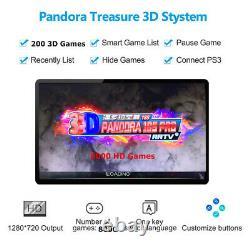 GWALSNTH Pandora Box 18S Arcade 8000 Games Console 3D HDMI Video Game Machines