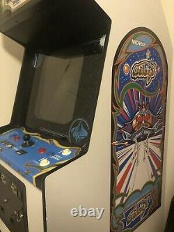 Galaga By Midway 60 In 1 Full Size Arcade Machine, Screen Monitor Needs Repair