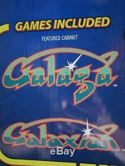 Galaga/Galaxian Arcade 1UP Machine 4FT Gameroom Brand NEW! Nostalgic
