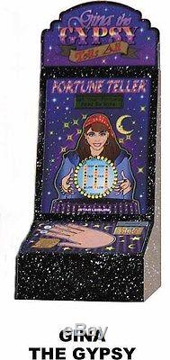Gina The Gypsy Fortune Telling Machine Counter Top Arcade Game