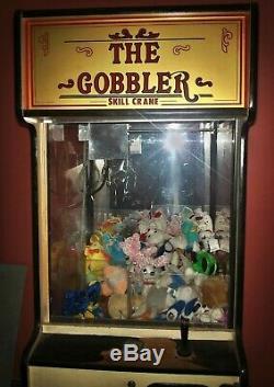 Gobbler Crane Claw Machine