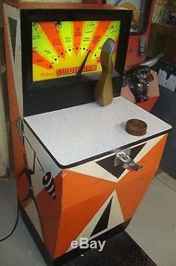 Golden Arm arcade machine Midway WOW! RARE@OHIO Arm Wrestler Strength Tester