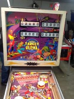 Gottlieb Target Alpha pinball machine