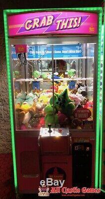 Grab This! Arcade claw machine LEDs