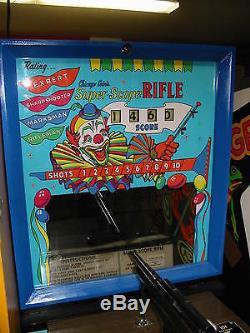 Ground up Restored Chicago Coins Super Scope Rifle Vintage Arcade Gun Game
