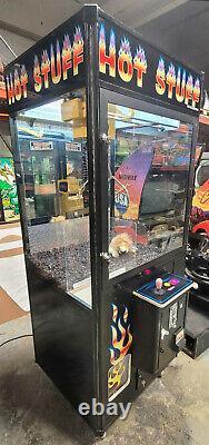 HOT STUFF Claw Crane Prize Redemption Full Size Arcade Machine WORKING! #4