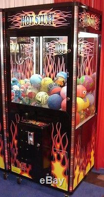 HOT STUFF Crane Claw Machine Coin Operated Vending BRAND NEW FREE SHIPPING