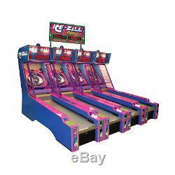 ICE BALL SKEE BALL Full Size Arcade Game Machine