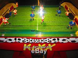 ICE SUPER KIXX Arcade Dome Soccer Machine (Excellent Condition) RARE
