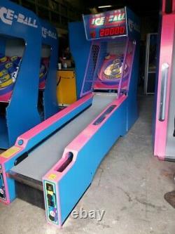 Ice Ball Arcade Machine Skee Ball