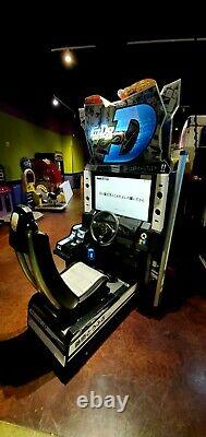 Initial D8 Arcade Stage Infinity 2 Player Dual Driving Racing Machine With Server