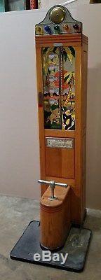 International Mutoscope Monkey Lifter Strength Tester, Arcade, Coin-op Machine