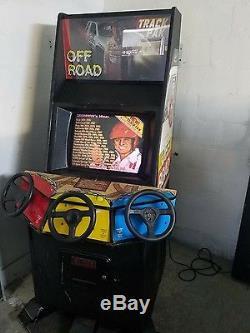 Ironman Ivan Stewart's Off Road Arcade Game Machine Track Pak