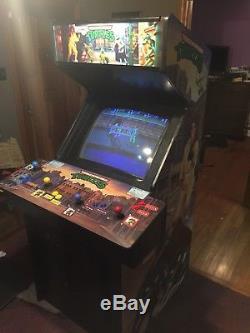 KONAMI Teenage Mutant Ninja Turtles arcade game machine