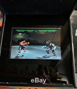 Killer Instinct Full Size Fighting Arcade Video Game Machine - 22 LCD Monitor