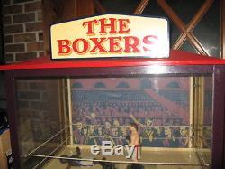 Knock Out Fighter Boxer Arcade Machine perhaps Joe Louis vs Max Schmeling 1928 c