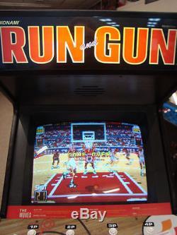 Konami's Classic Run & Gun Arcade Machine, awesome Basketball game