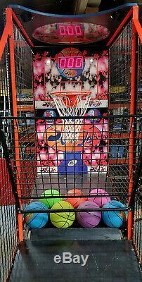 LAI Slam n Jam Basketball Arcade Game Machine! New Balls Included! WORKS GREAT