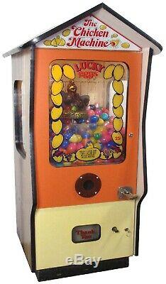 LUCKY EGGS ARCADE REDEMPTION MACHINE 1978 (Excellent Condition) RARE