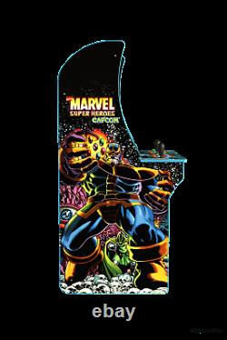 Marvel Super Heroes Arcade 1UP Retro Gaming Cabinet Machine 3 Games BRAND NEW