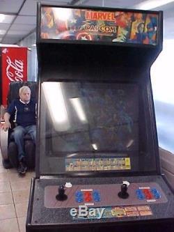 Marvel Vs Capcom Arcade video game machine. 25 full screen