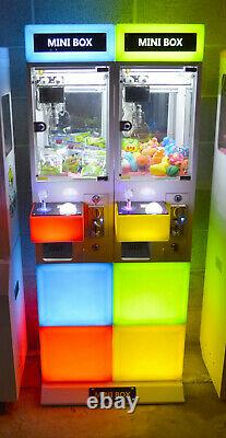Mini Box Claw Machine Double Arcade Game Crane NEW Coin Operated Lighted